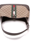 Gucci Jackie Web Hobo Bag Signature Canvas