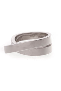 Cartier Paris Nouvelle Vague Crossover Ring - White Gold Size 5.75
