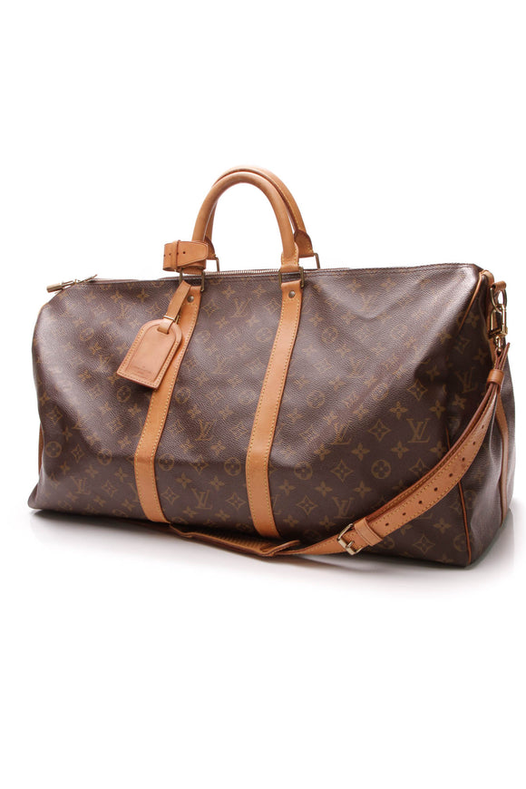 Keepall Bandouliere 55 Travel Bag - Monogram