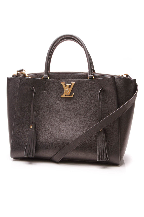 Louis Vuitton LockMeTo Bag - Black