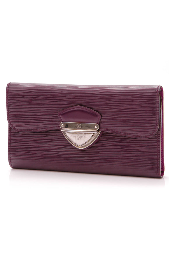 Louis Vuitton - Epi Eugenie Wallet - Cassis