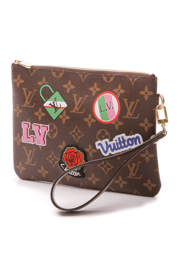 Louis Vuitton Patches City Pouch - Monogram