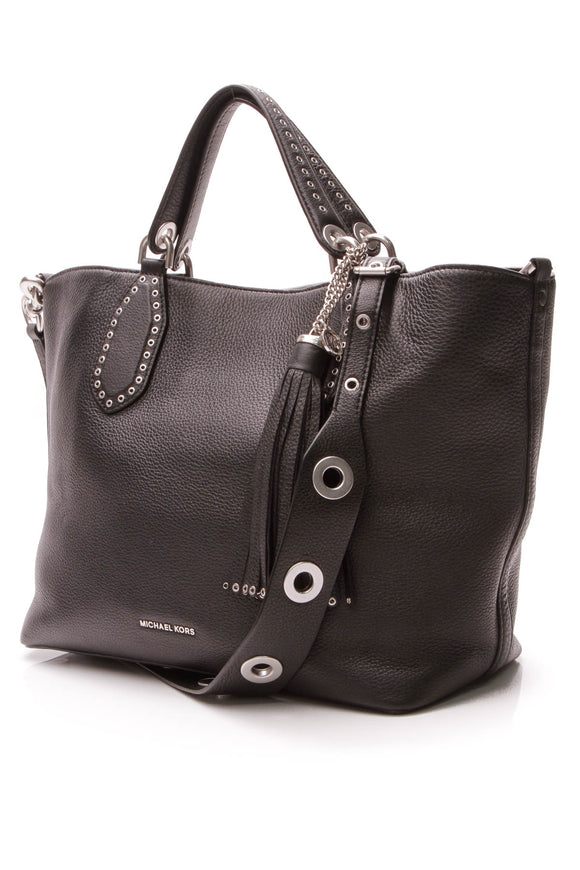 Michael Kors Brooklyn Large Tote Bag - Black