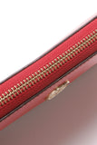 Tory Burch Robinson Zip Around Wallet - Red