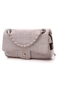 Chanel Sports Ligne Flap Bag - Heather Gray