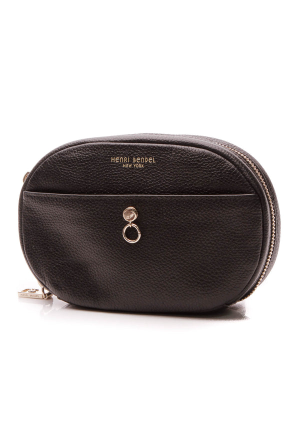 Henry Bendel About Town Webbing Belt Bag - Black