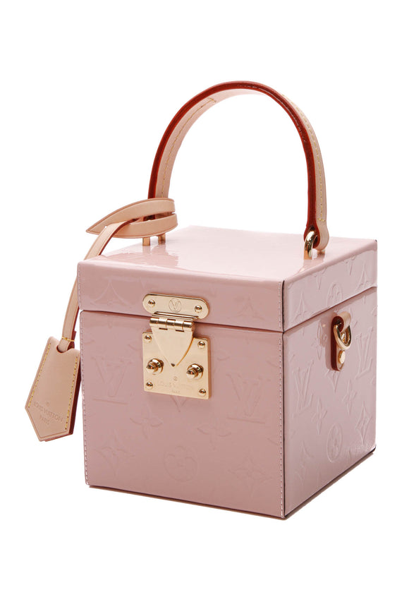 Louis Vuitton Vernis Bleeker Box Bag - Rose Ballerine