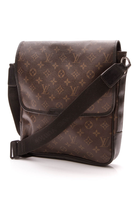 Louis Vuitton Bass MM Messenger Bag - Monogram Macassar
