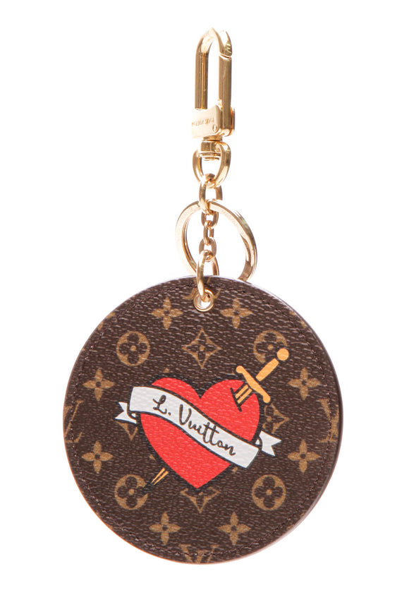 Louis Vuitton Patches Bag Charm - Monogram