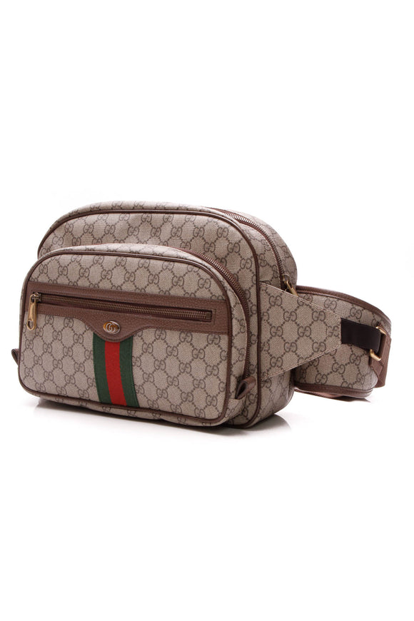 Gucci Ophidia Large Belt Bag - Supreme Canvas