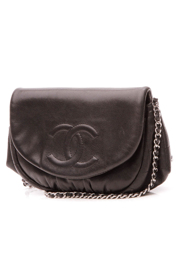 Chanel Half Moon WOC Bag - Black