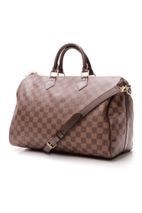 Louis Vuitton Speedy Bandouliere 35 Bag - Damier Ebene