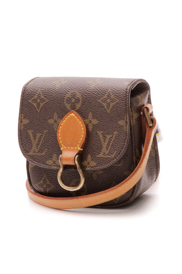 Louis Vuitton Vintage Saint Cloud Mini Bag - Monogram