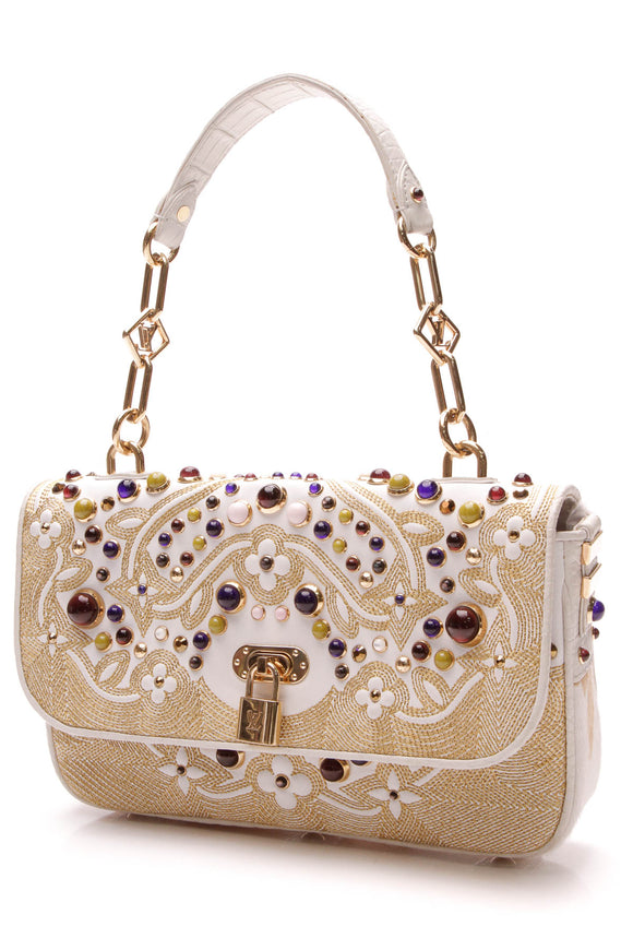 Louis Vuitton Les Extraordinaires Tupelo PM Bag - White
