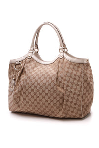 Gucci Sukey Large Hobo Bag - Signature Canvas