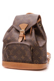 Louis Vuitton Vintage Montsouris Mini Backpack - Monogram