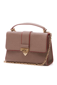 Louis Vuitton Empreinte Saint Sulpice PM Bag - Taupe Glace