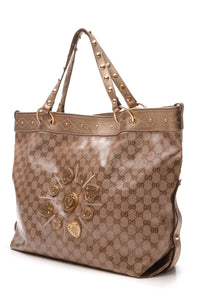 Gucci Hysteria Irina Large Tote Bag - Crystal Canvas