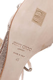 Jimmy Choo Michiko Wedge Sandals - Gold Size 40