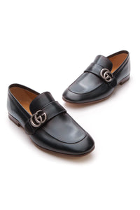 Gucci Double G Men's Loafers - Navy US Size 6