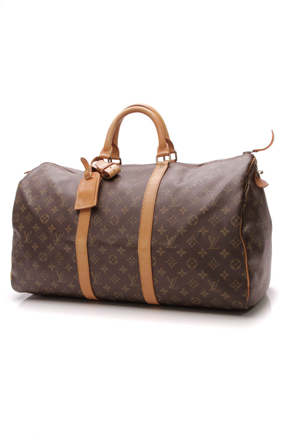 Louis Vuitton Vintage Keepall 50 Bag - Monogram