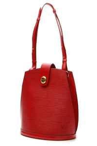 Louis Vuitton Vintage Epi Cluny Bucket Bag - Red