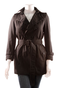 Burberry Trench Coat - Black Size 2