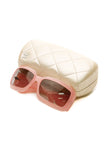 Chanel Mother of Pearl CC Sunglasses - 5076-H Pink