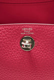 Hermes Mini Lindy 20 Bag - Rose Extreme