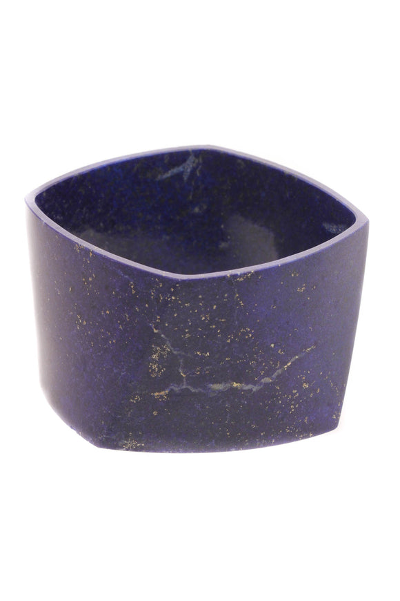 Tiffany & Co. Frank Gehry Torque Wide Bangle Bracelet - Lapis Lazuli