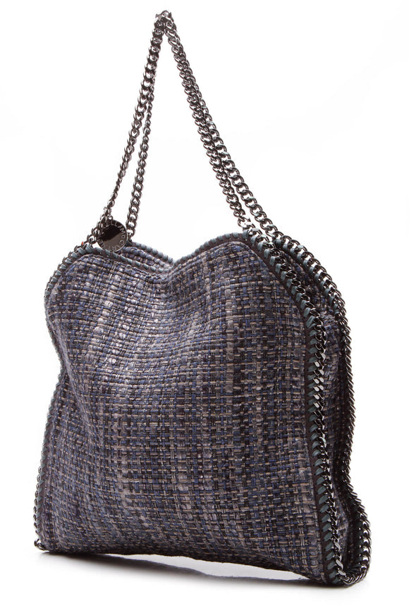 Stella McCartney Boucle Falabella Tote Bag - Blue/Gray