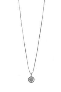 David Yurman Petite Cerise Diamond Pendant Necklace - Silver