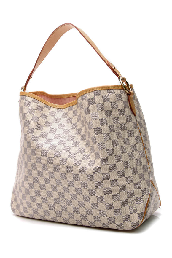 Louis Vuitton Delightful MM Bag - Damier Azur