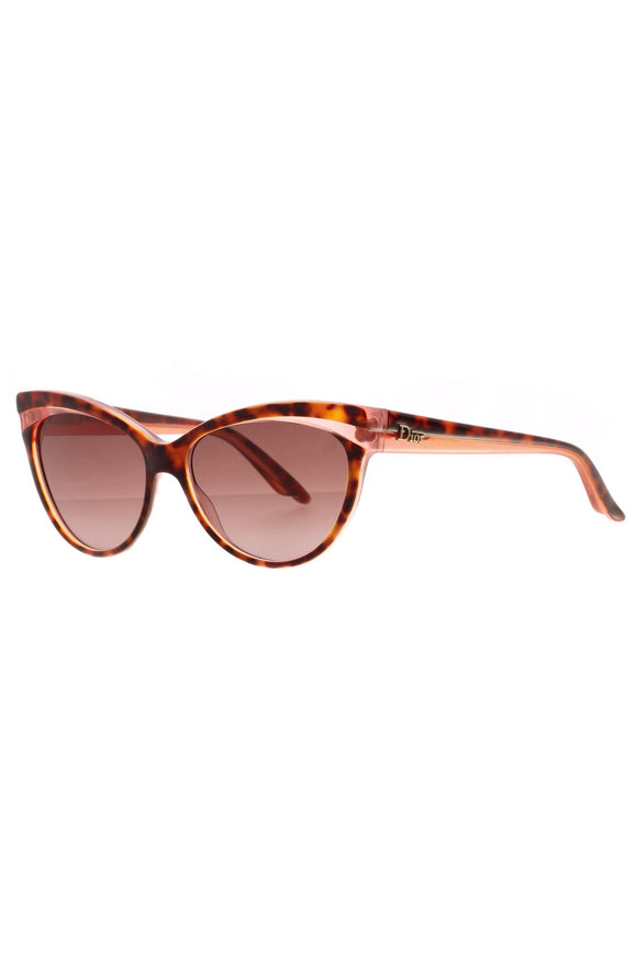 Christian Dior Dior Sauvage Panther Cat Eye Sunglasses - Tortoise/Pink