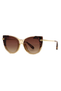 Krewe Laveau Nylon Cat Eye Sunglasses - Tortoise