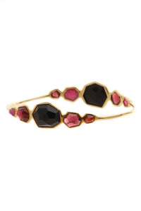 Ippolita Red Velvet Modern Rock Candy Bangle Bracelet - Gold