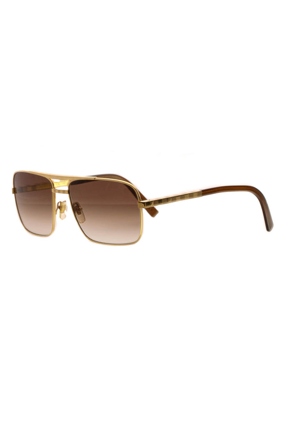 Louis Vuitton Altitude Men's Sunglasses - Z0259U Brown/Gold