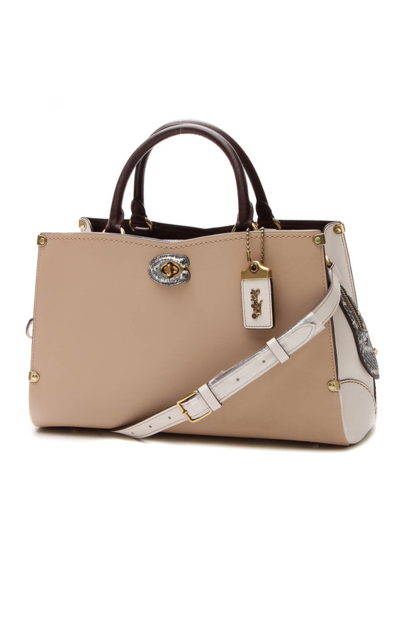 Coach Mason Carry All Bag - Beechwood Chalk