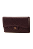 Chanel Classic Flap Wallet - Purple