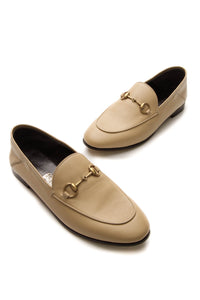 Gucci Brixton Horsebit Convertible Loafers - Wheat Size 37