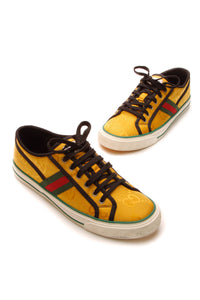 Gucci Off the Grid Men's Sneakers - Yellow US Size 10.5
