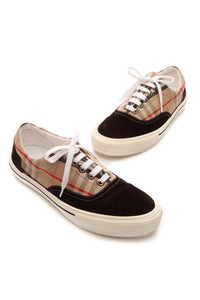 Burberry Wilson Low-Top Men's Sneakers - Vintage Check US Size 8