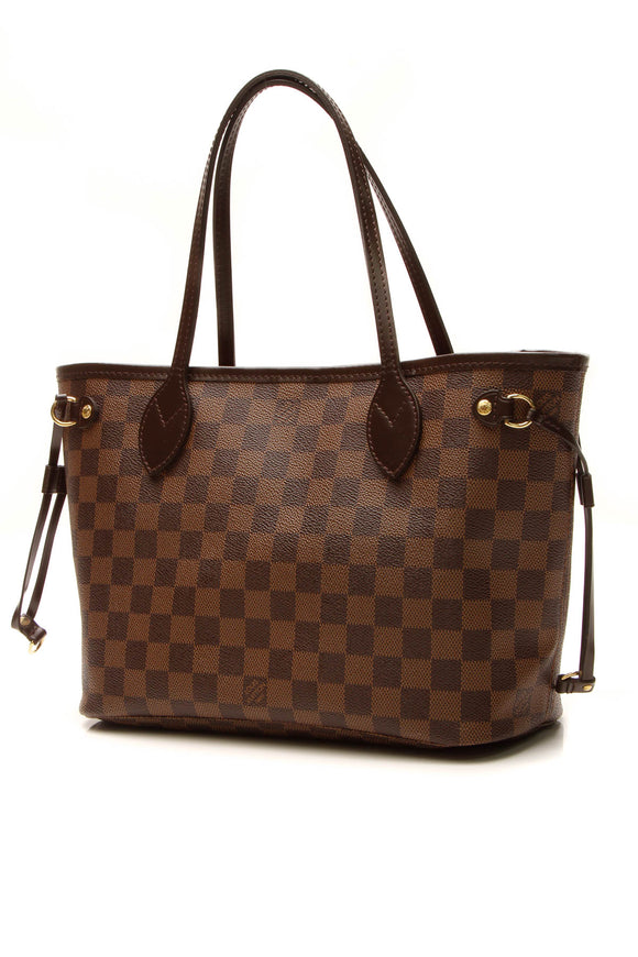 Louis Vuitton Neverfull PM Tote Bag - Damier Ebene