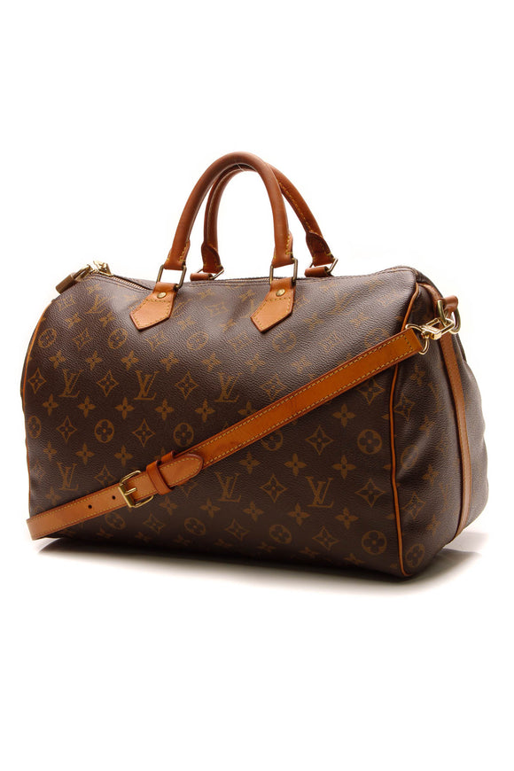 Louis Vuitton Speedy 35 Bandouliere Bag - Monogram