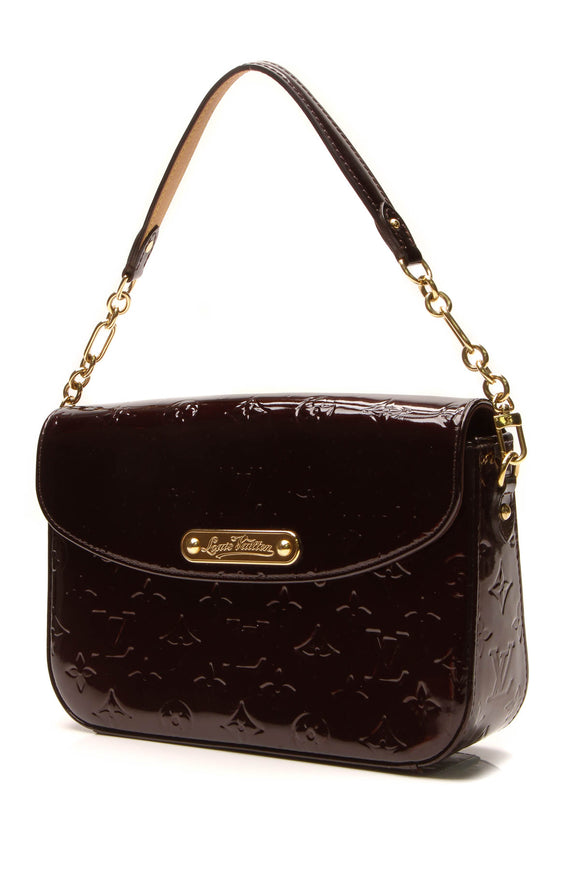 Louis Vuitton Vernis Rodeo Drive Bag - Amarante