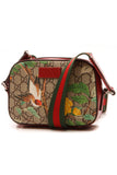 Gucci Tian Camera Shoulder Bag - Supreme Canvas/Red