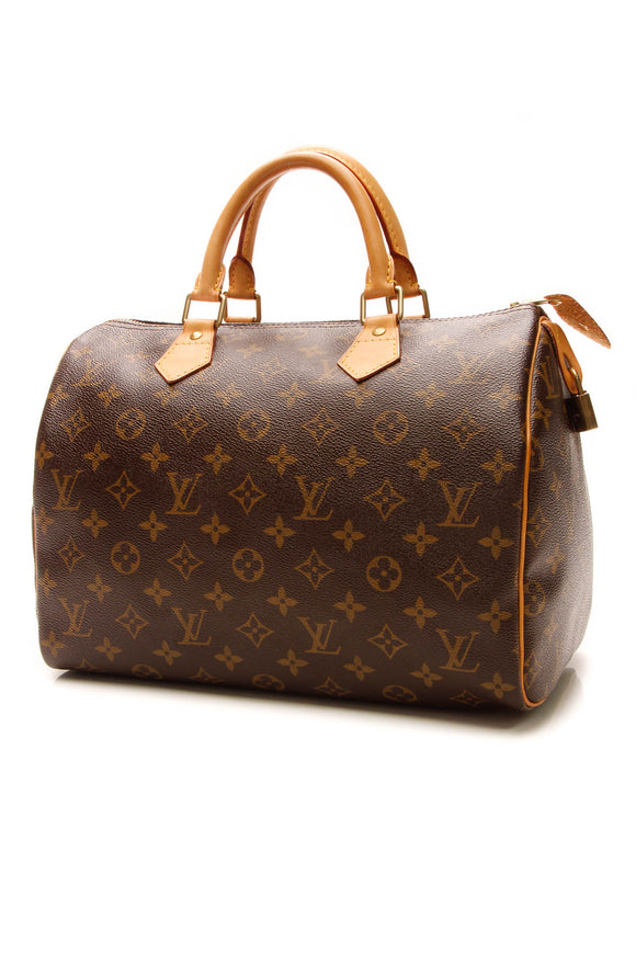 Louis Vuitton Speedy 30 Bag - Monogram