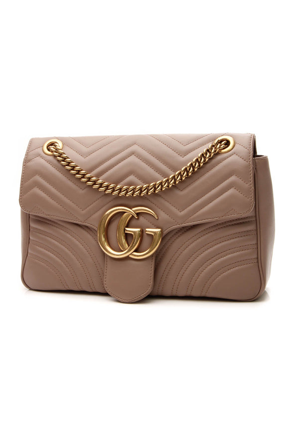 Gucci Marmont Medium Shoulder Bag - Matelasse Leather