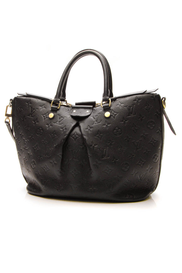 Louis Vuitton Empreinte Mazarine MM Bag - Black