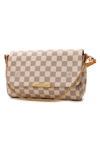 Louis Vuitton Favorite MM Bag - Damier Azur